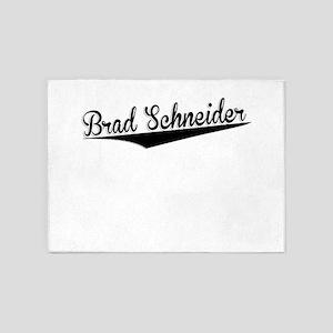 Brad Schneider, Retro, 5'x7'Area Rug