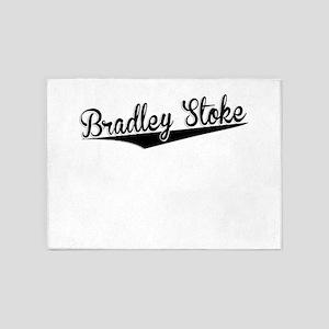 Bradley Stoke, Retro, 5'x7'Area Rug