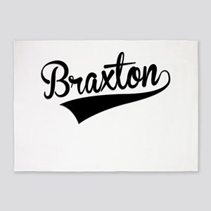 Braxton, Retro, 5'x7'Area Rug