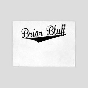 Briar Bluff, Retro, 5'x7'Area Rug
