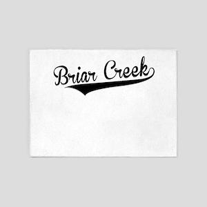 Briar Creek, Retro, 5'x7'Area Rug