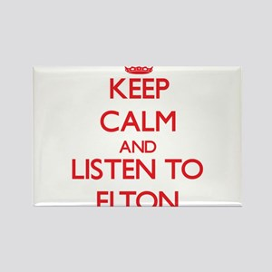 Keep Calm and Listen to Elton Magnets