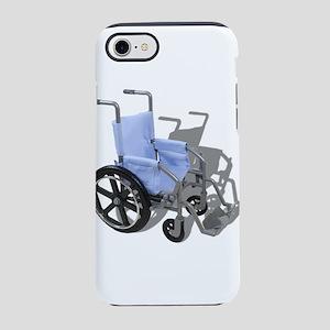 WheelchairBlueSeat073110 iPhone 7 Tough Case