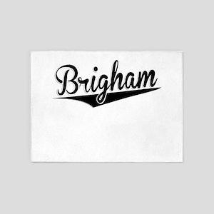 Brigham, Retro, 5'x7'Area Rug