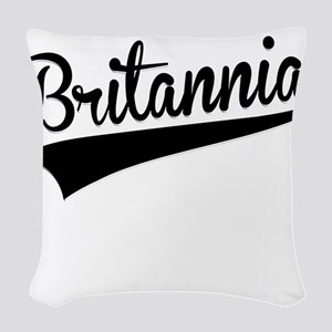 Britannia, Retro, Woven Throw Pillow