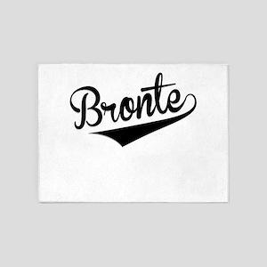 Bronte, Retro, 5'x7'Area Rug