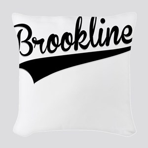 Brookline, Retro, Woven Throw Pillow