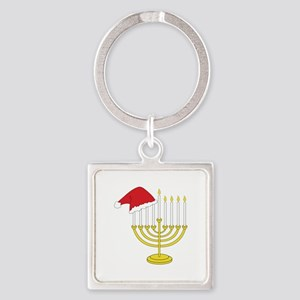 Hanukkah And Christmas Keychains