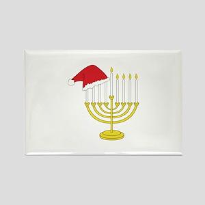 Hanukkah And Christmas Magnets
