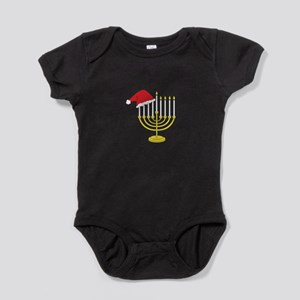 Hanukkah And Christmas Baby Bodysuit