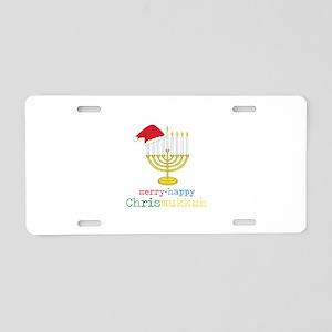 Chrismukkuh Aluminum License Plate