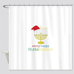 Chrismukkuh Shower Curtain