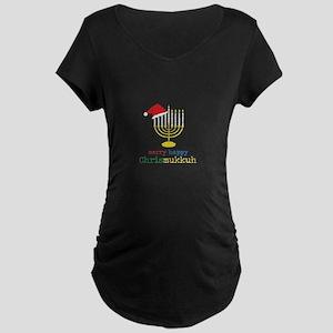 Chrismukkuh Maternity Dark T-Shirt