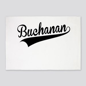 Buchanan, Retro, 5'x7'Area Rug