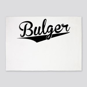 Bulger, Retro, 5'x7'Area Rug