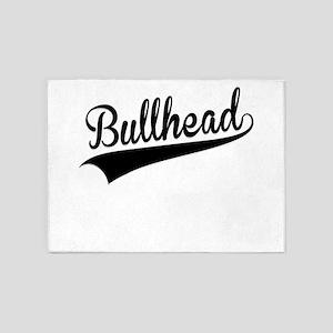 Bullhead, Retro, 5'x7'Area Rug