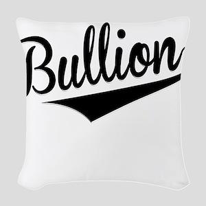 Bullion, Retro, Woven Throw Pillow