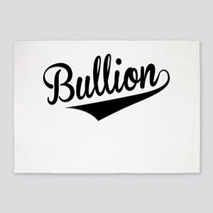 Bullion, Retro, 5'x7'Area Rug