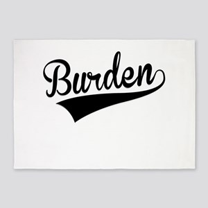 Burden, Retro, 5'x7'Area Rug