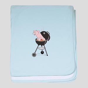 Pig Roast baby blanket