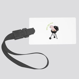 lets pig out! Luggage Tag