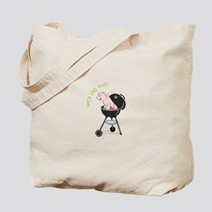 lets pig out! Tote Bag