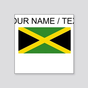 Custom Jamaica Flag Sticker