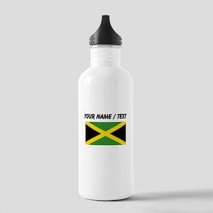 Custom Jamaica Flag Water Bottle