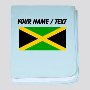 Custom Jamaica Flag baby blanket