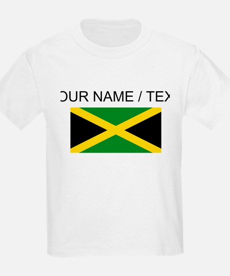 Custom Jamaica Flag T-Shirt