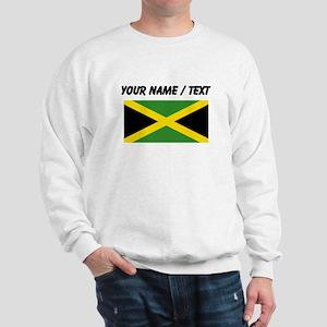 Custom Jamaica Flag Sweatshirt