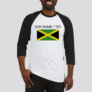 Custom Jamaica Flag Baseball Jersey