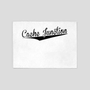 Cache Junction, Retro, 5'x7'Area Rug