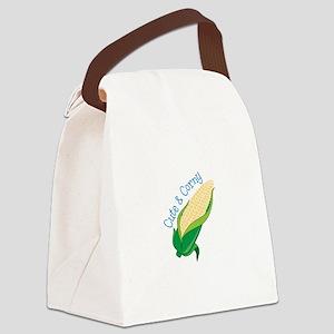 Cute Corny Canvas Lunch Bag