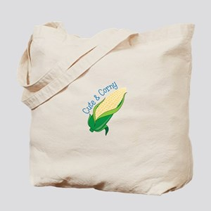 Cute Corny Tote Bag