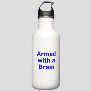 Armed with a Brain Water Bottle