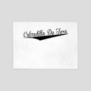 Calzadilla De Tera, Retro, 5'x7'Area Rug