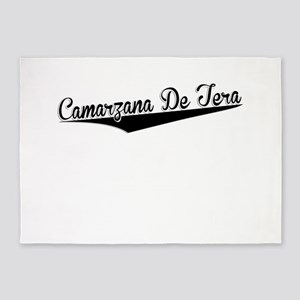 Camarzana De Tera, Retro, 5'x7'Area Rug