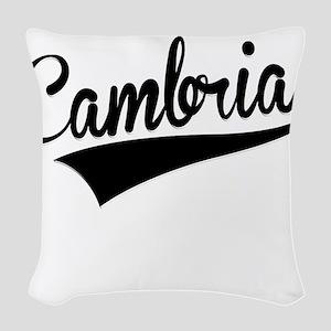 Cambria, Retro, Woven Throw Pillow
