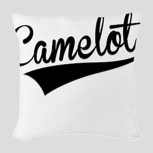 Camelot, Retro, Woven Throw Pillow