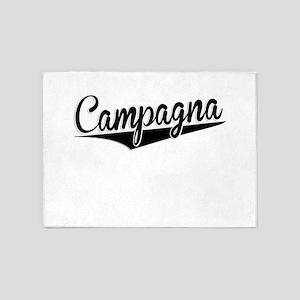 Campagna, Retro, 5'x7'Area Rug