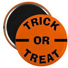 Halloween Trick or Treat Magnet