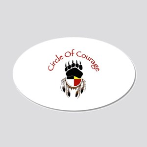 Circle Of Courage Wall Decal
