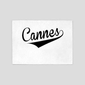 Cannes, Retro, 5'x7'Area Rug