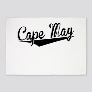 Cape May, Retro, 5'x7'Area Rug