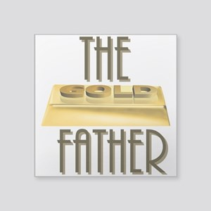 The Gold Father Sticker