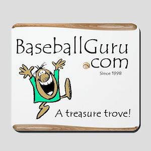 Baseball Guru Mousepad