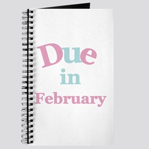 Pink Due in February Journal