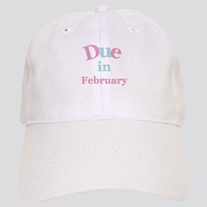 Pink Due in February Cap