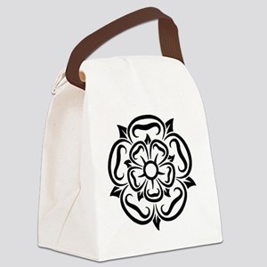 rose of yorkshire lancashire Canvas Lunch Bag